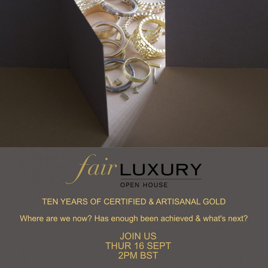 Reflecting on ten years of certified artisanal gold
